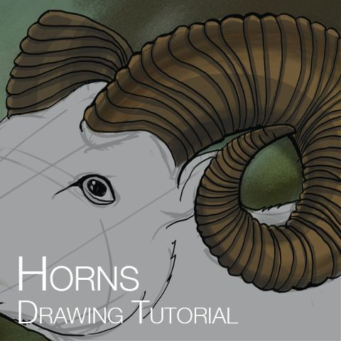 how to draw horns with picsart