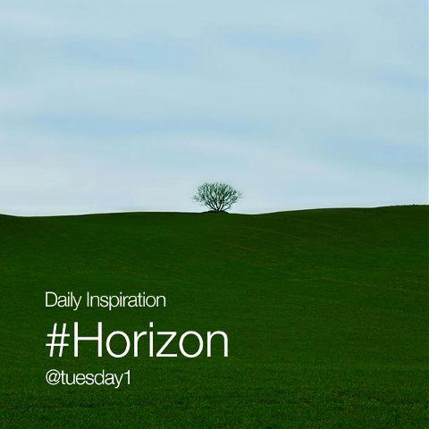 Wednesday Inspiration #Horizon