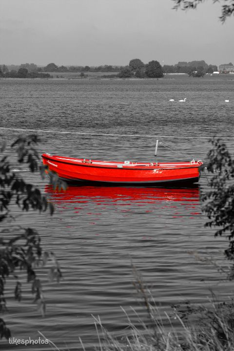 quotes emotion colorsplash nature boat