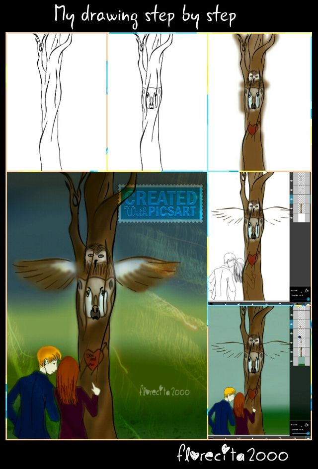 totem pole drawing tutorials