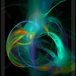 colorful artistc art abstract rainbow