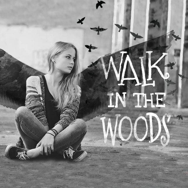 walk in the woods clipart