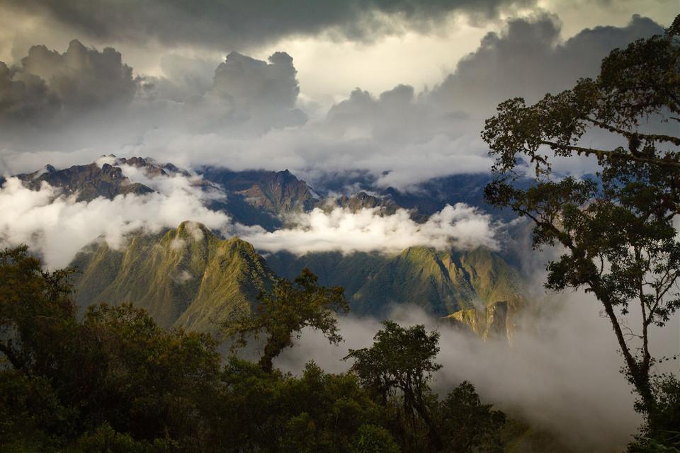 #Landscape #inca #trail #incatrail #peru #sunset #sunrise #andes #mountains