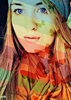 photography colorful artistic artisticselfie