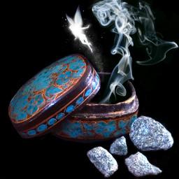 wapmagicaledit smoke fairy magical