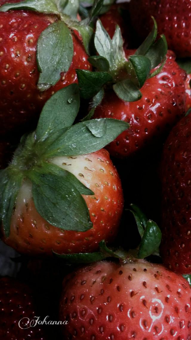 Good evening my friends. ♡  #berries #fruits