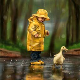 dcrainyday drawing art rain cute