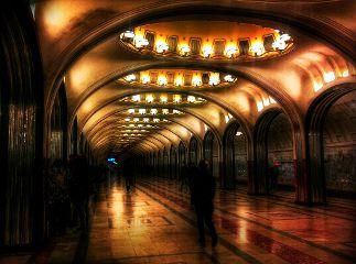 architecture underground photography