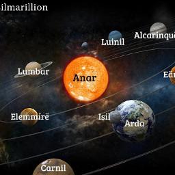 arda maps silmarillion middle earth