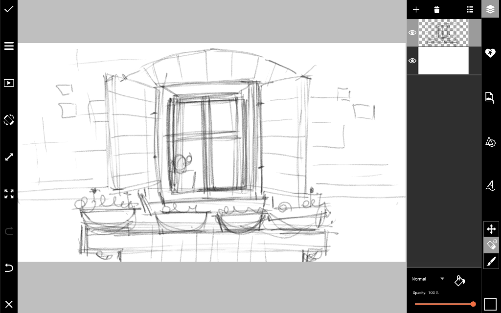 how to draw a window