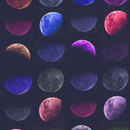 nature_beauty moon colorful