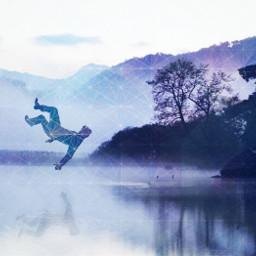blackandwhite fantasy levitation people editstepbystep artistic freetoedit art