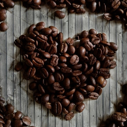 coffeebeans coffeelove heart brown gray freetoedit