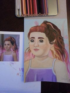 prismacolor färgpennor teckning drawing thesims3