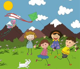 dckite kiteflying kids patang cute