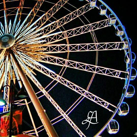 I took this photo of #Niagara #skywheel 5 years ago. 😉 #fun #Canada