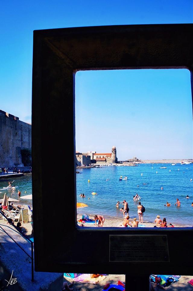 #collioure #summer #beach #france #village #2015