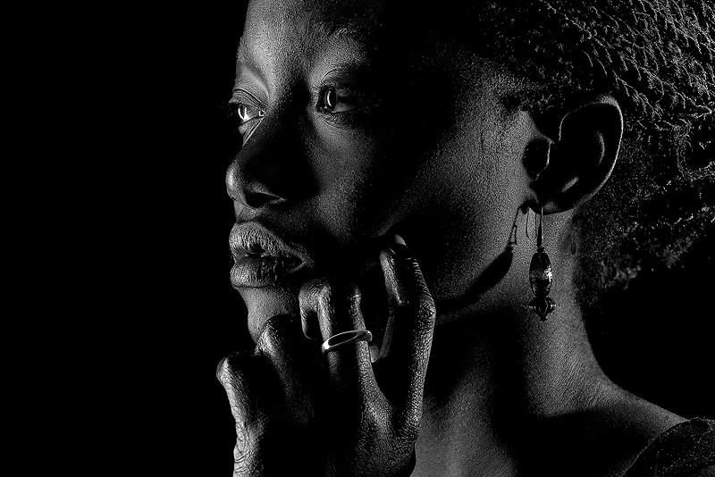 #blackandwhite #people