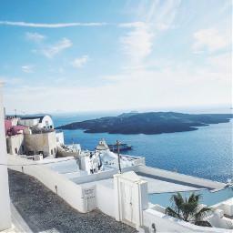 santorini greece summer