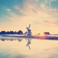 sunrise windmill photography beautiful beautifypicsart