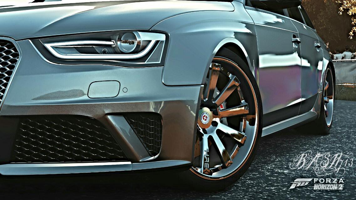 #audi #rs4 #forzalife #forzahorizon2 #forzaworld #xboxone #photooftheday #audipower #cars #carporn #caroftheday #carswithoutlimits #street #speed #wheels #rims #horsepower #badmachines #amazing_cars #playgroundgames #fastcars #audilife #audigang #audilovers #loweredlifestyle #cargasm #audiart