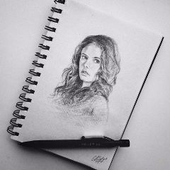 drawing art kayascodelario teresa themazerunner