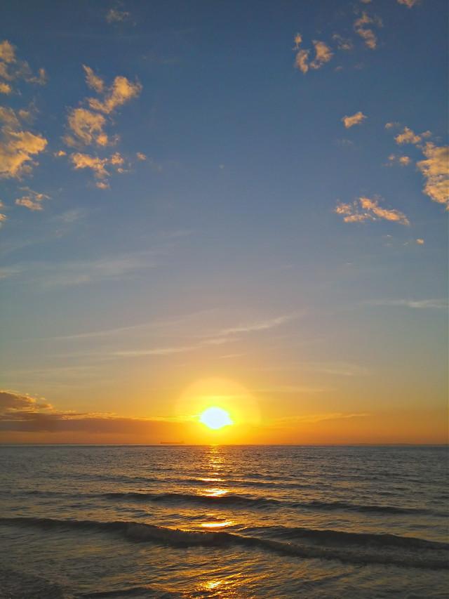 #nature #sunset #beach #saoluis