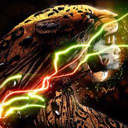 me interesting lighttrails doubleexposure photography tiger selfportrait myedit mask artistic