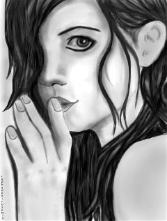 dcsketch blackandwhite art digitaldrawing girl