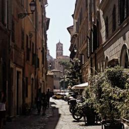 city skyline rome emotions love