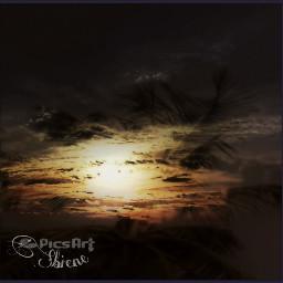 sunset many mix emotions nature