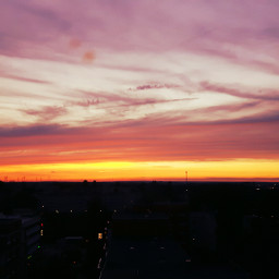 sunset sun sundown colorful photography