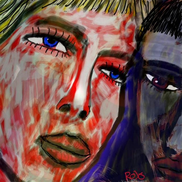 Tänk Dig / Darin  #PicsArt #drawing #art #colourful #rojo #artforpeace #freedoom #artforfreedom