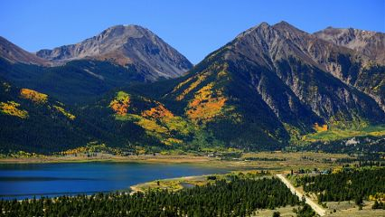 nature photography colorful landscape mountains