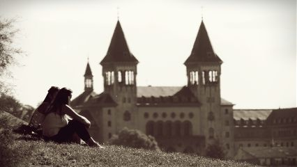 sepia travel people photography