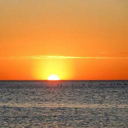 melbourne australia sunset stkilda pordosol