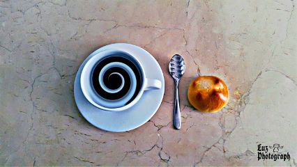 distored stilllife food