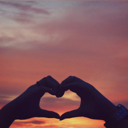 love heart sky clouds emotions